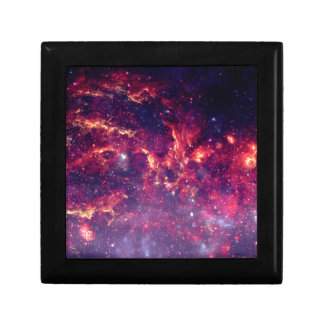Star Field in Deep Space Small Square Gift Box