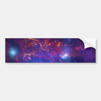 Star Field Star Cluster Gas Dust Supernova Remnant Car Bumper Sticker