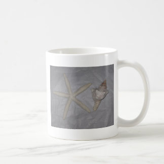 Star Fish and Seashell Coffee Mugs