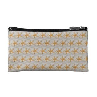 Star Fish at the Beach Cosmetic Bag