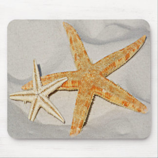 Star Fish at the Beach Mouse Pad