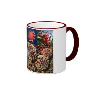 Star fish flora mugs