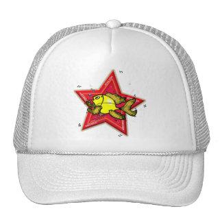 Star fish mesh hat