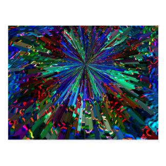 Star Flairs - Cosmic Sparks Postcard