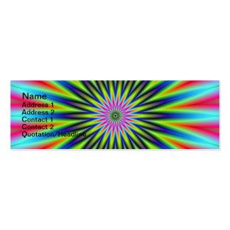 Star Flower Card Business Card