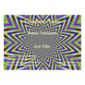 Star Flower Card Pack Of Chubby Business Cards