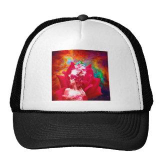 Star Flower Mesh Hat