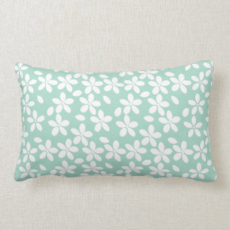 Star Flower Lumbar Throw Pillow