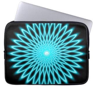 Star Flower Mandala Laptop Computer Sleeve