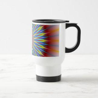 Star Flower Stainless Steel Travel Mug