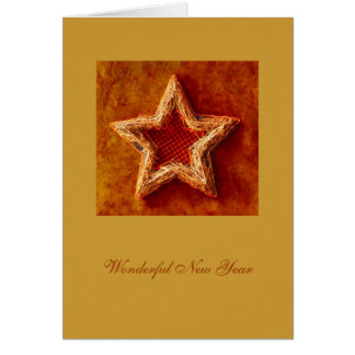 Star for Wonderful New Year 2011 - Card