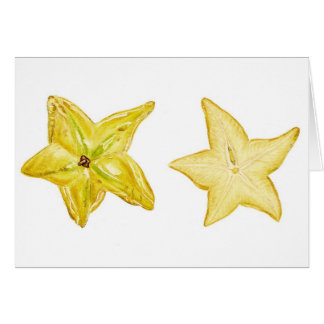 Star Fruit Card