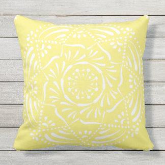 Star Fruit Mandala Cushion