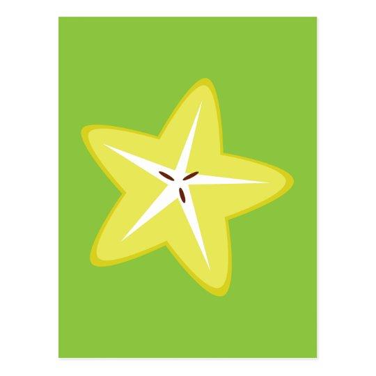 Star Fruit Postcard
