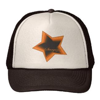 Star Gazer Gazing Up To The Stars In the Night Sky Mesh Hat