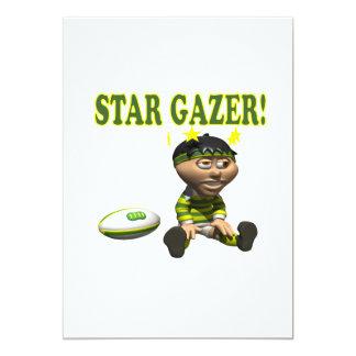 "Star Gazer 5"" X 7"" Invitation Card"