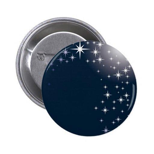 star gazing pinback button