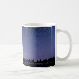 Star gazing basic white mug