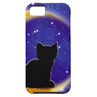 Star Gazing Cat iPhone 5 Covers