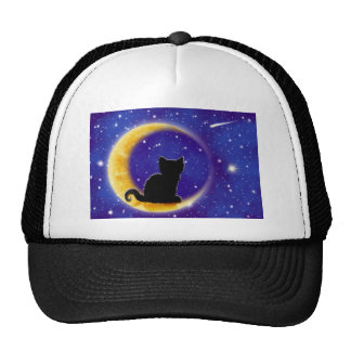 Star Gazing Cat Mesh Hats