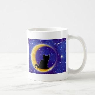 Star Gazing Cat Mug