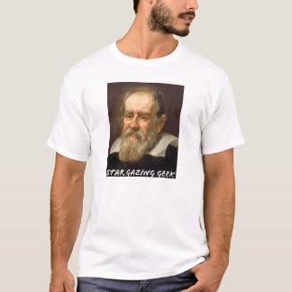 Star gazing Geek (Galileo Galilei) T-Shirt