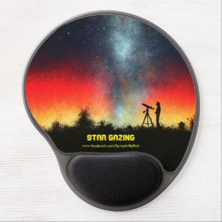 Star Gazing Gel Mouse Pad