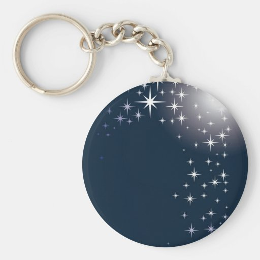 star gazing key chain