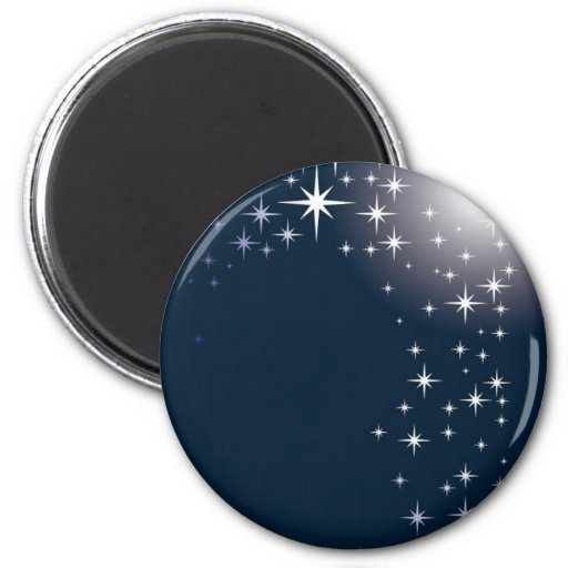 star gazing fridge magnet