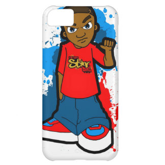 Star Ghetto Gangster street hood style swagger Case For iPhone 5C