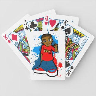 Star Ghetto Gangster street hood style swagger Poker Deck