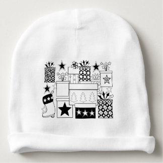 Star Gifts Line Art Design Baby Beanie