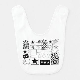 Star Gifts Line Art Design Bib