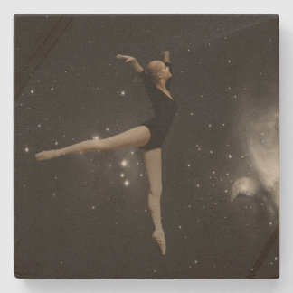 Star Girl Ballerina and Orion Nebula Stone Coaster