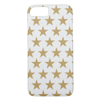 Star Gold pattern with cotton texture iPhone 8/7 Case