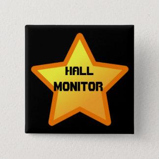 star, Hall, Monitor 15 Cm Square Badge