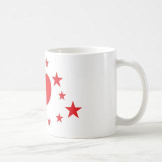 star hearts mugs