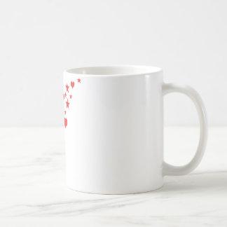 star hearts coffee mugs