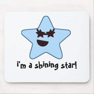star, i'm a shining star! mouse pad
