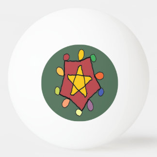 Star in Lights Ping Pong Ball