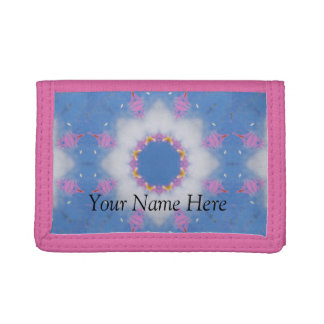 Star in the Clouds Mandala Design Wallet