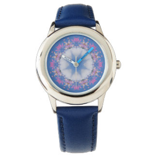 Star in the Clouds Mandala Design Watch