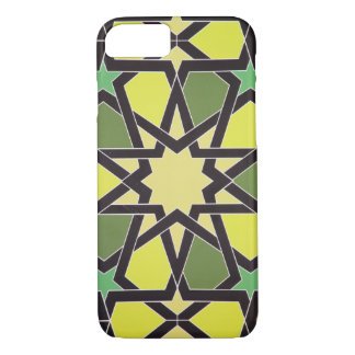 Star in the Heart of Sharjah: Cool Vintage Pattern iPhone 8/7 Case
