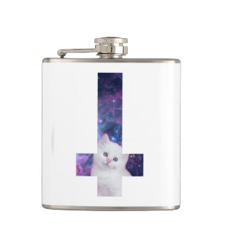 Star Kitten Hip Flask