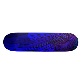 Star light geometic design skateboard