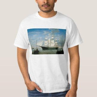 Star Light in Boston Harbor Shirts