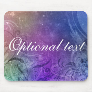 star light, Optional text mouse pad