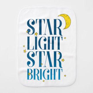 Star Light Star Bright Burp Cloth