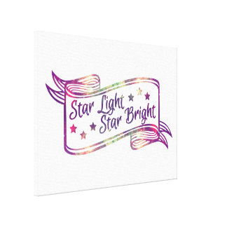 Star Light Star Bright Stretched Canvas Prints