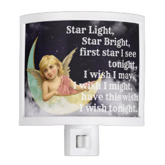 Star Light, Star Bright, night light plug